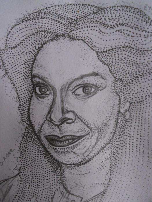 Whoopi Goldberg by dasee
